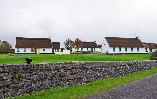Irish Cottages Ballyvaughan Co Clare 169 P L Chadwick Cc