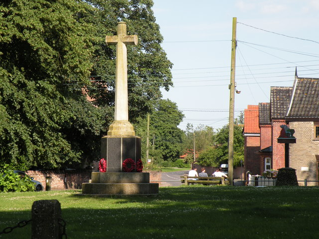 The War Memorial at Banham