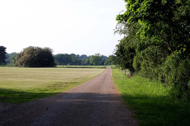 Track to Sandringham House