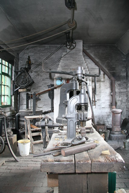 Blists Hill Victorian Town - lock maker's workshop