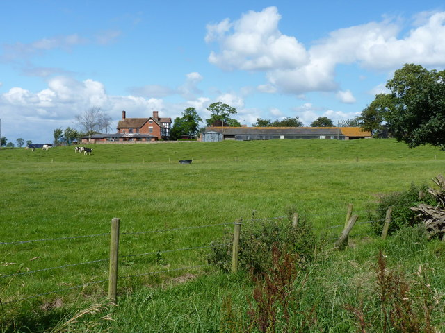 Walton Grange farm from the southwest