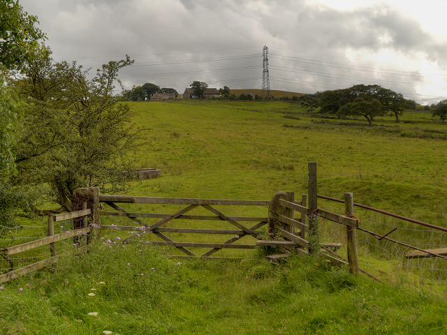 Gate on the Witton Weavers Way
