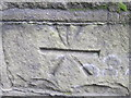 SE2900 : Ordnance Survey Cut Mark by Peter Wood