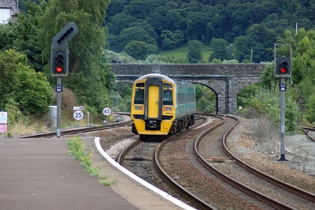 Class 158 at Llandudno Junction
