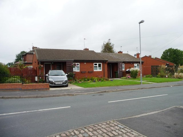Bungalows in Mill Close, South Kirkby