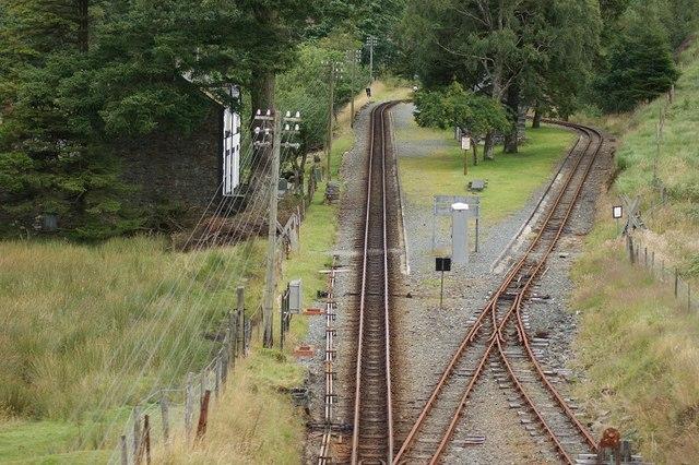 Dduallt Station, Ffestiniog Railway