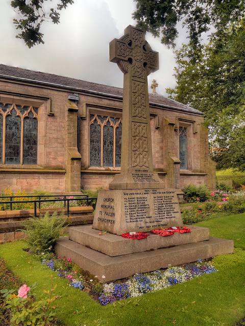 War Memorial, Immanuel Church