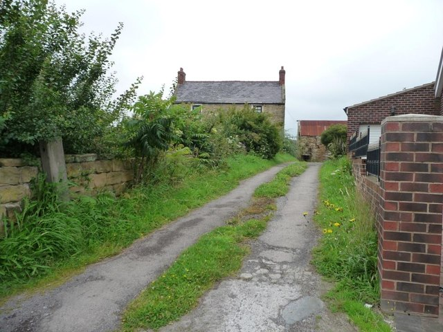Entrance to Kirkby Common Farm
