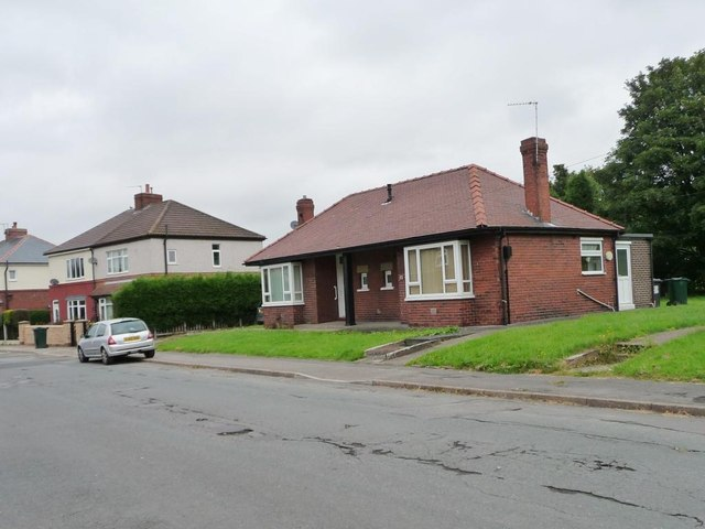 Bungalows in Park View, Brierley