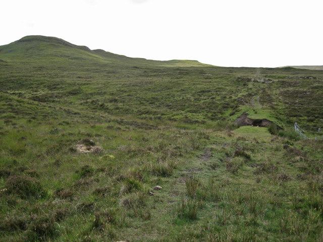 Moorland below Ben Roishader