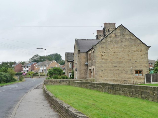 Older stone-built houses, Brierley