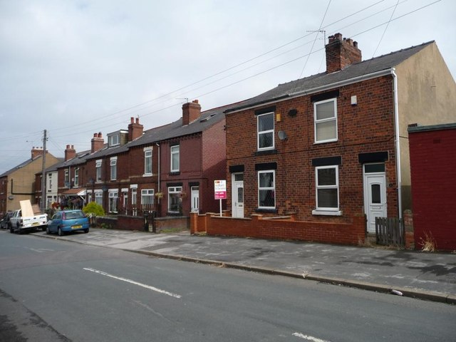 Houses on Northgate, South Hiendley
