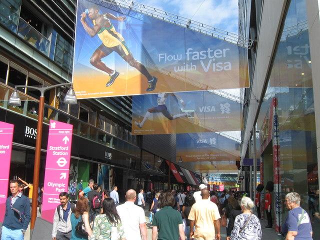 Westfield Stratford Shopping Centre