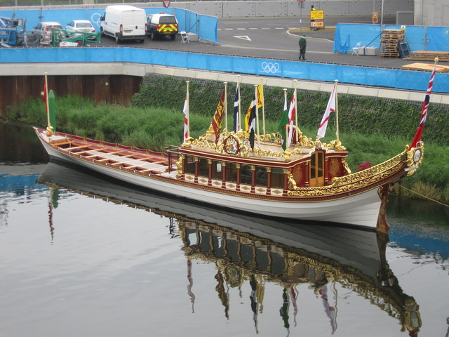Gloriana Rowing Barge, Olympic Park