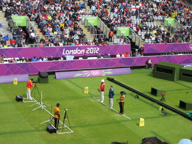 Archery at Lords, 2012 Olympics