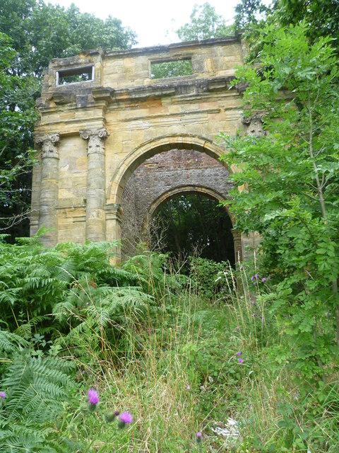 Triumphal arch for Mereworth House