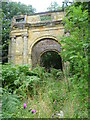 TQ6652 : Triumphal arch for Mereworth House by Ian Yarham