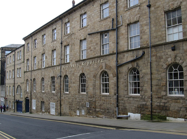 Dewsbury - The Dewsbury Reporter building