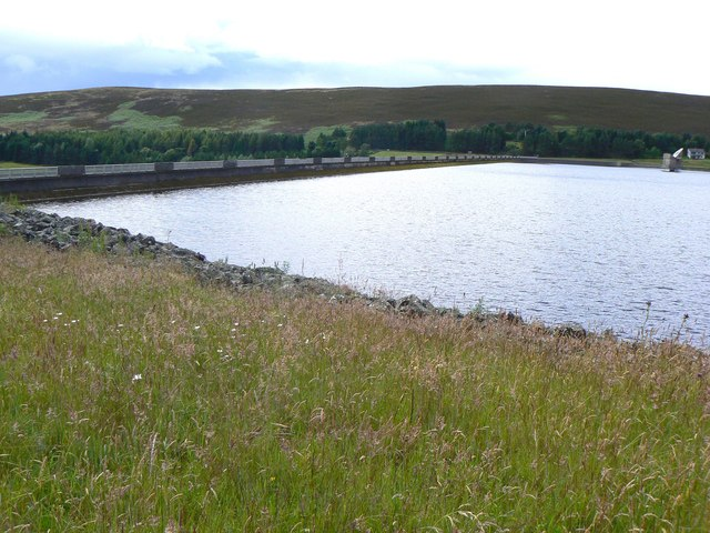 Backwater Reservoir dam wall
