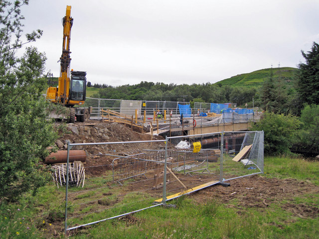 Rebuilding Skeabost Bridge