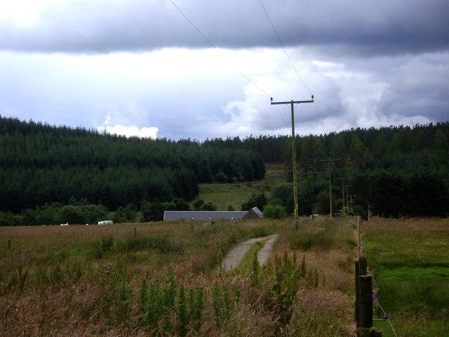 Track to 'Blairordans'