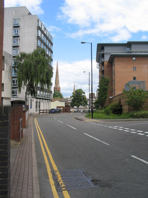 Manor House Drive and Christchurch spire