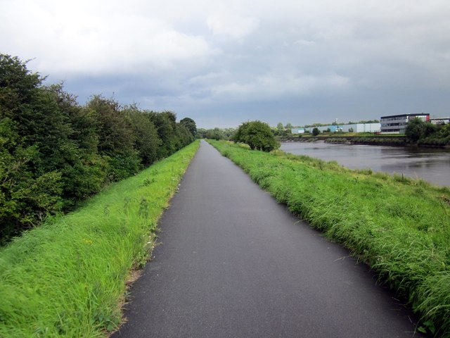 The Dee Coastal Path at Saltney