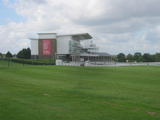 Grandstands at Wetherby Racecourse