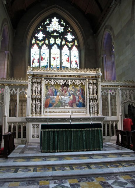The High Altar at St Patrick's Church of Ireland Cathedral, Armagh