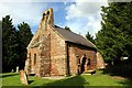SJ4350 : St Edith's Church, Shocklach by Jeff Buck