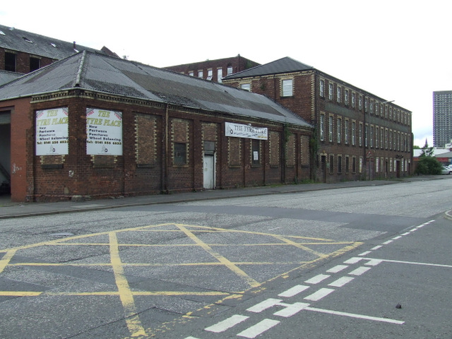 Old factory on Fielden Street