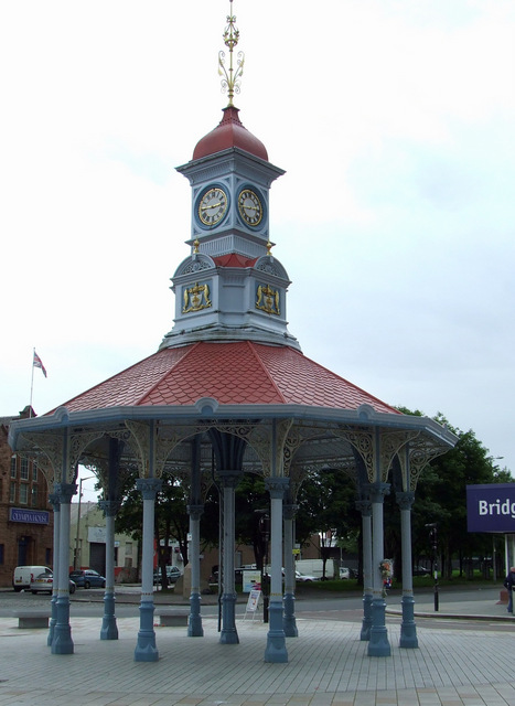 Bridgeton Cross Bandstand