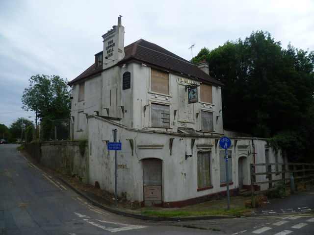 The Upper Bell Inn has seen better days