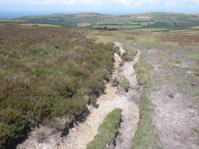 Path on Shilstone Hill