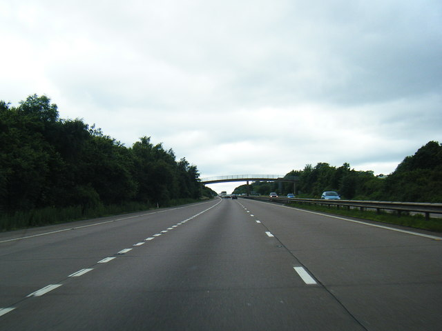 M54 looking west at Junction 4