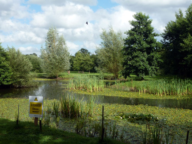 Pond, Bodiam Business Park