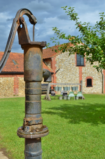 Handpump at Chapel Farm