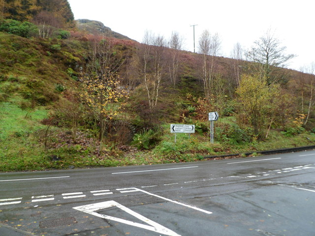 High ground behind the B4233 junction near Gelli Industrial Estate