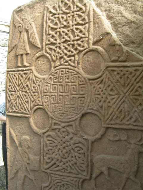 Pictish stone decoration