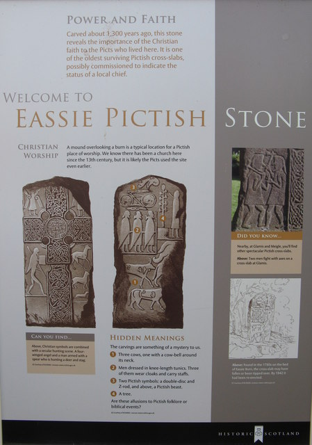 Welcome to Eassie Pictish Stone
