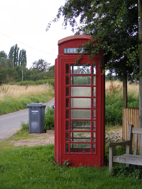 Cookley Telephone Box