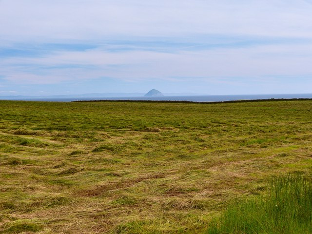 View to the Ailsa Craig