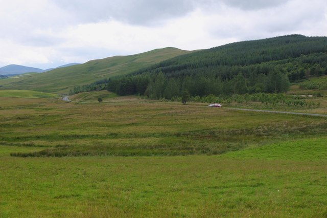 A701 north of Broughton
