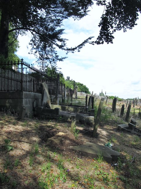 Old cemetery at St Patrick's Catholic Cathedral, Armagh