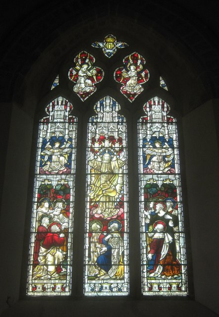 St James Church, Stained Glass Window