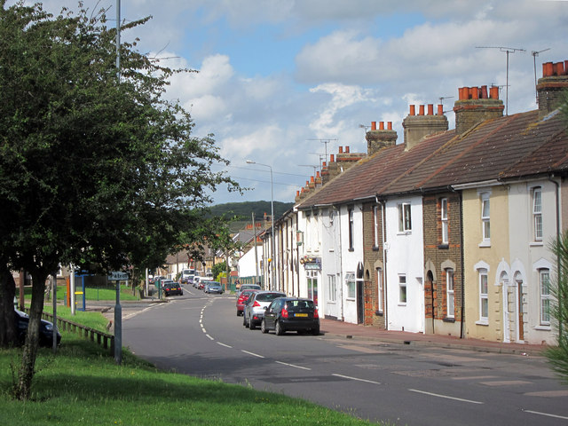 Terrace of houses on Wainscott Road