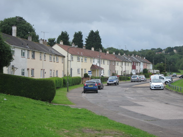 Terraced housing, Barnfield