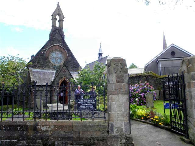 Entrance, St Augustine's Church of Ireland