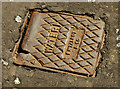 C8432 : &quot;Talbot&quot; access cover, Coleraine by Albert Bridge