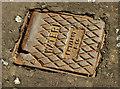 """C8432 : """"Talbot"""" access cover, Coleraine by Albert Bridge"""